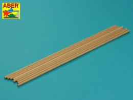 ABER WR4  Wood round rods ? 4mm length 250mm x 8 pcs.