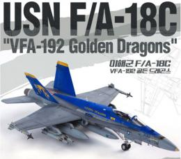 ACADEMY 1/72  F/A-18C VFA-192 Golden Dragons