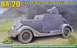 ACE 1/48 BA-20 Light Armored Car (early prod.)