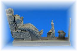 AEROBONUS 1/32 USAF Fighter Pilot w/ ejection seat for F-16