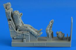 AEROBONUS 1/32 Modern German Luftwaffe Fighter Pilot & for F-104G/S (M.B. GQ-7A ejection seat)