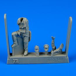 1/48 USAF Fighter Pilot WWI - 8th Army (European)
