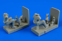 1/48 RAF Pilots WWII for Bedford MWD (AIRFIX)