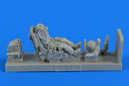 1/48 Soviet Fighter Pilot w/ ejection seat (Su-27)