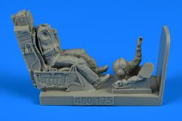 1/48 USAF Fighter Pilot w/ ejection seat for F-16