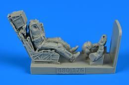 1/48 USN Fighter/Attack Pilot w/ ej.seat F/A-18E/F