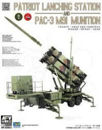 1/35 Patriot Lanching Station & PAC-3  M91 Munition (the plastic parts of injection from Trumpeter)