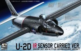 1/48 U-2D IR Sensor Carried Ver. Dragon Lady High-Attitude Reconnaissance Aircraft