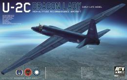 1/48 U-2C Dragon Lady Early/Late Model High-Attitude Reconnaisssance Aircraft
