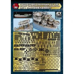 1/350 Photo-Etched Conversion Kit for US Navy Type 2 LSTs LST-1 Class Landing Ship