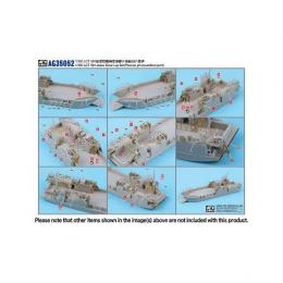 1/350 Photo-Etched Conversion Kit for US Navy LCT MK.6 Landing Craft Tank 501 Class 1943-1945