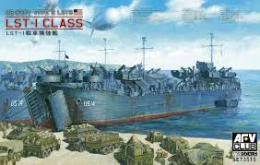 AFV 1/350 US Navy Type 2 LSTs LST-1 Class