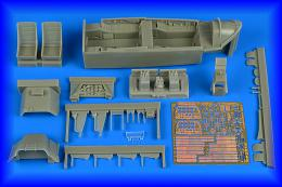 AIRES 1/32 T-28C Trojan cockpit set for KTH