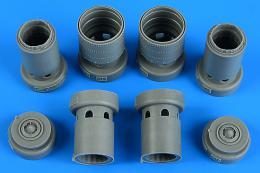AIRES 1/32 F-5E/F Tiger II exhaust nozzles for KTH