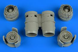 AIRES 1/48 Tornado exhaust nozzles (for Revell)