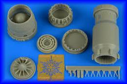 AIRES 1/48 MiG-27 Flogger late exhaust nozzle opened For TRUMP