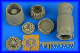 AIRES 1/48 MiG-27 Flogger late exh.nozzle closed For TRUMP