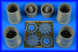 AIRES 1/48 Su-27 Flanker B exhaust nozzles for HOBBYB