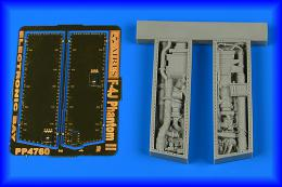 AIRES 1/48 F-4J Phantom II electronic bay for ZOUKEI-M.