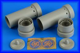 AIRES 1/48 Phantom FGR.2 exhaust nozzles for HAS/REV