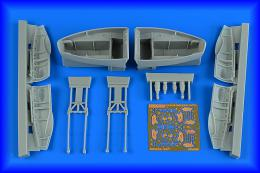 AIRES 1/48 Beaufighter TF.X wheel bay set for REV