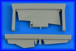 AIRES 1/48 MiG-23MF/MLD Flogger correct tail fin for TRU