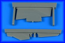 AIRES 1/48 MiG-23BN correct tail fin for TRUMP