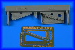 AIRES 1/48 Fw 190 inspection panel - early for EDU