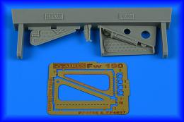 AIRES 1/48 Fw 190 inspection panel - late for EDU