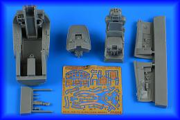 AIRES 1/48 F-104G Starfighter cockpit set forw/ MB GQ-7A