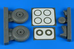AIRES 1/48 Do 17Z/Do 215 wheels & paint masks for ICM