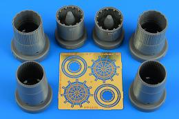 AIRES 1/48 Su-27 Flanker B exhaust nozzles for KTH