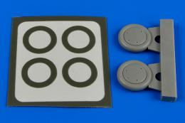 AIRES 1/72 Gloster Gladiator wheels & paint masks