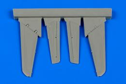AIRES 1/72 MiG-15 control surfaces (for Eduard)