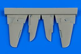 AIRES 1/72 Yak-3 control surfaces  (for Zvezda)