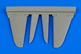 AIRES 1/72 A6M2 Zero control surfaces (for Tamiya)