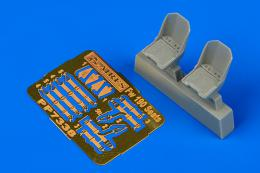 AIRES 1/72 Fw 190 seats (for Eduard)