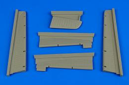 AIRES 1/72 Fw 200 Condor control surfaces (for Trumpeter)