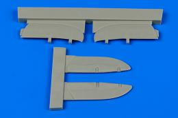 AIRES 1/72 I-153 Chaika control surfaces (for ICM)