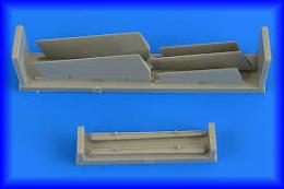 AIRES 1/72 A-7 Corsair II control surfaces For FUJI