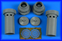 AIRES 1/72 F-14A Tomcat exhaust nozzles - closed for TRU