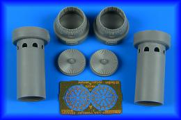 AIRES 1/72 F-14A Tomcat exhaust nozzles - opened for TRU