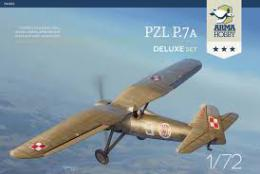 ARMA HOBBY 1/72 PZL P.7a  Deluxe set