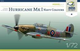 ARMA HOBBY 1/72 Hurricane Mk.I in Royal  Navy serv.