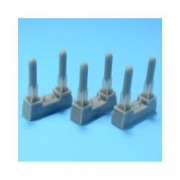 AML RESIN 1/72 German bombs SC50 (6 pcs. incl.decal)