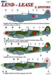 AML DECALS 1/48 Spitfire Lend-Lease Pt.I (re-edit.)