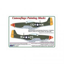 AML 1/48 Camouflage masks P-51D Mustang