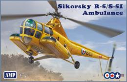 AMP 1/72 Sikorsky R-5/S51 Ambulance Helicopter