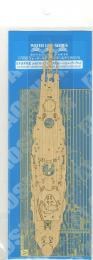 AOSHIMA 1/700 Yamashiro 1944 Retake Deck Sheet & Photo-Etched Parts
