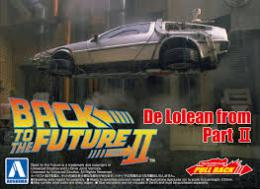 AOSHIMA 1/43 Pullback Delorean from Movie II